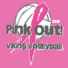 Viking Volleyball PINK OUT 2018