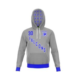 Custom Sublimated Jersey Hoodie