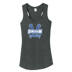 District Made Ladies Perfect Tri Racerback Tank