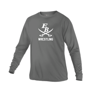 Alleson Adult Tech Crew Neck Long Sleeve T shirt