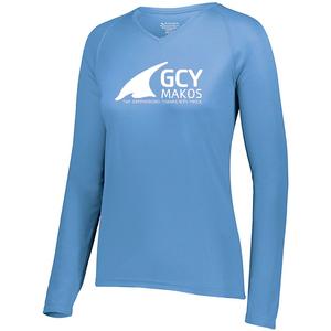 Augusta Ladies Attain Performance Long Sleeve Tee Shirt