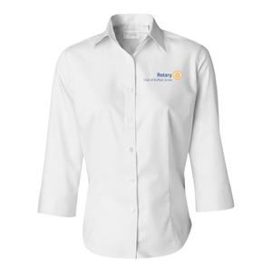 Women's Three-Quarter Sleeve Twill Shirt