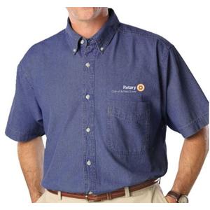 Men's Short Sleeve Premium Denim