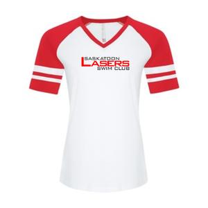 ATC Ladies Eurospun Ring Spun Baseball Tee