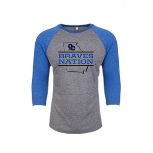 Next Level Adult Tri-Blend Raglan