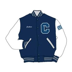 Custom Calvary Cougars Varsity Jacket