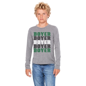 Bella + Canvas Adult Jersey Long Sleeve Tee Youth and Adult