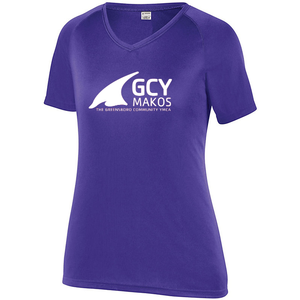 Augusta Ladies Attain Performance Raglan Short Sleeve Tee Shirt