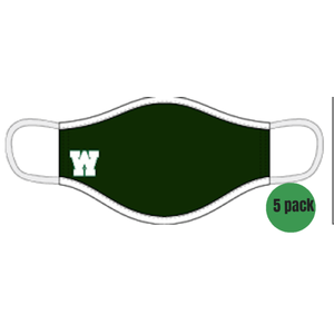 5 PACK - Alleson 3-Ply Sublimated Mask